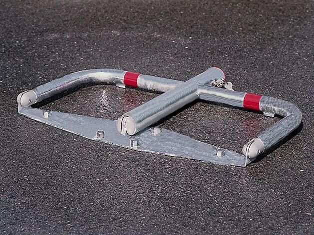 Parkbügel TELDE aus Stahlrohr, feuerverzinkt