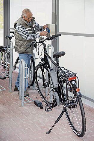 Elektroroller- / E-Bike-Ladestation MONEDA
