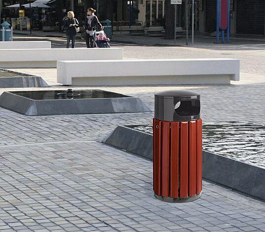Abfallbehälter WICKFORD, 60 Liter