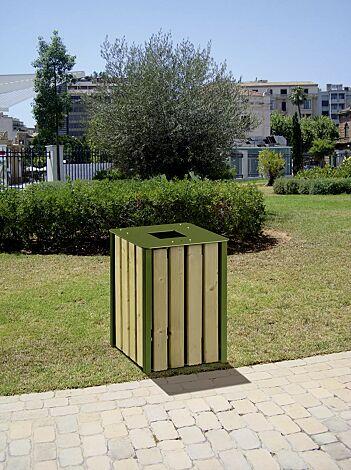 Abfallbehälter HEMEL, 50 Liter