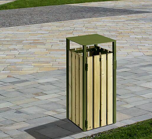 Abfallbehälter HEMEL, 110 Liter