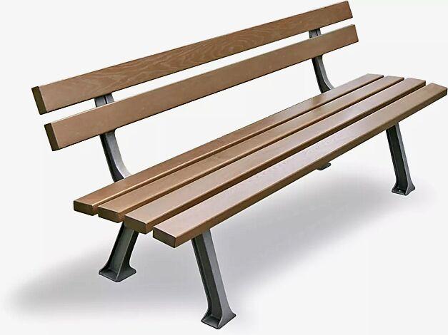 Sitzbank VERONA mit Fichteholzbelattung
