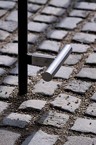 Detail: Fußstütze