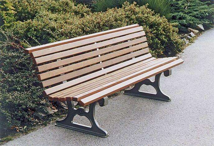 Sitzbank LAZIO mit Fichteholzbelattung lasiert