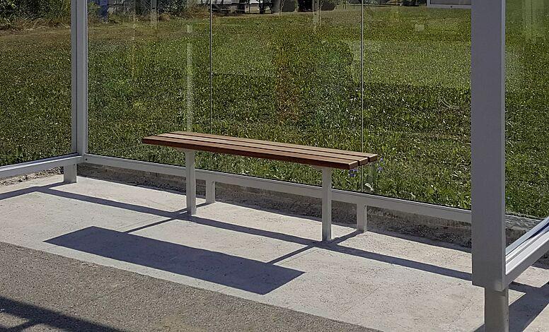 Sitzbank FERMO, zum Einbetonieren