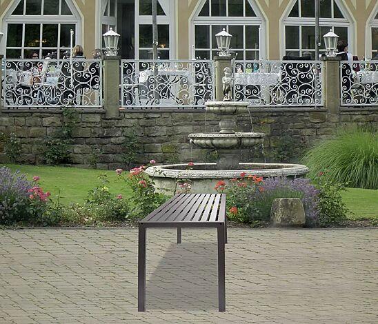 Tisch LIGURIA zum freien Aufstellen, Edelstahl