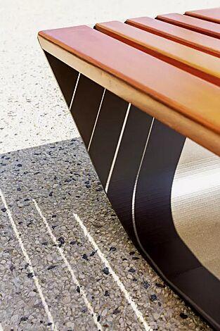 Detail: Sitzfläche
