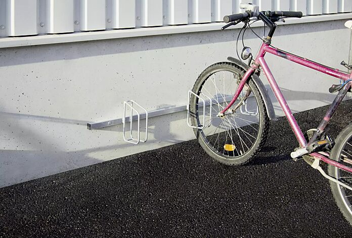Fahrradständer CARTAGO zur Wandbefestigung, 3 Stellplätze