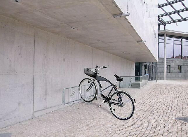 Fahrradständer MADISON zur Wandbefestigung, 4 Stellplätze