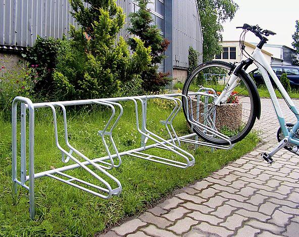 Fahrradständer MADISON zum Einbetonieren, 5 Stellplätze