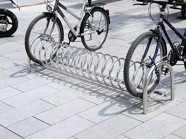 Fahrradständer BALLINA in Edelstahl