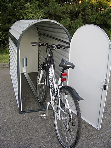 Fahrradgarage METIS, geöffnet