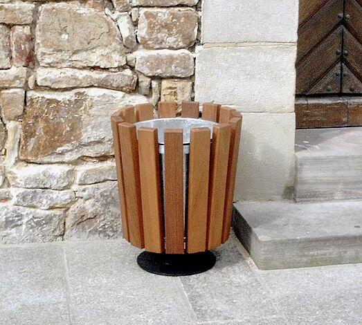 Abfallbehälter DORSET, zum freien Aufstellen