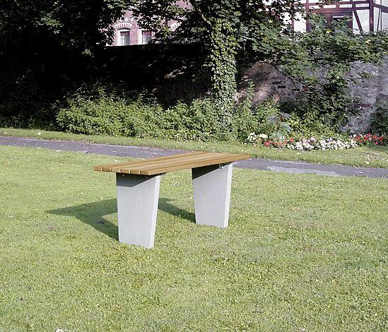 Tisch GENOVA mit Holzbelattung