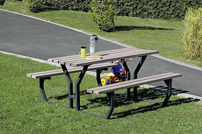 Bank-Tisch-Kombination GLIERA