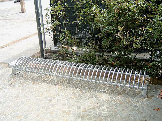 Fahrradständer RICCIO ohne Betonsockel, feuerverzinkt