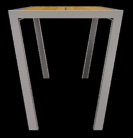 "<div id=""container"" class=""container"">Tisch CASTEO mit Lärchenholzbelattung, Stahlteile in RAL 9007 graualuminium</div>"