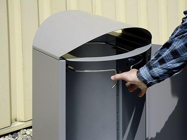Abfallsackhalterung (120-Liter-Ausführung)