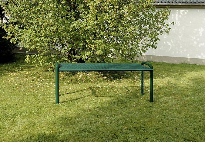 Tisch TORRE in RAL 6005 moosgrün