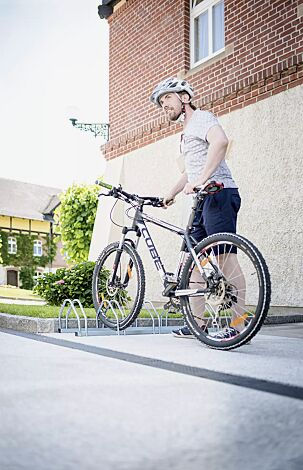 Fahrradständer COLUMBIA, 5 Stellplätze