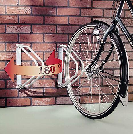 Fahrradwandhalter TROY, schwenkbar