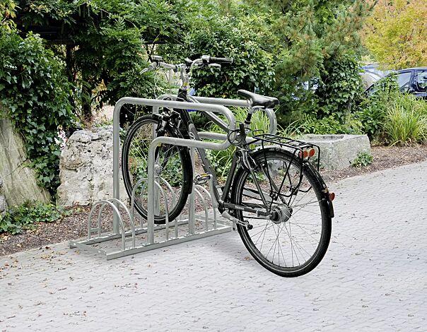 Fahrradständer WESTMINSTER, 3 Stellplätze, 2 Anlehnbügel