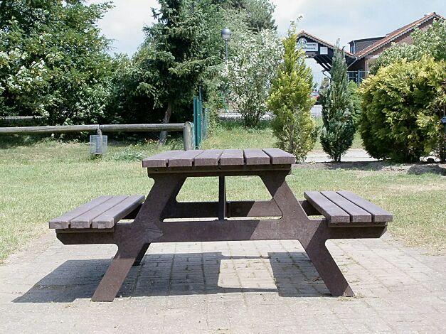 Bank-Tisch-Kombination TIVOLI aus Kunststoff