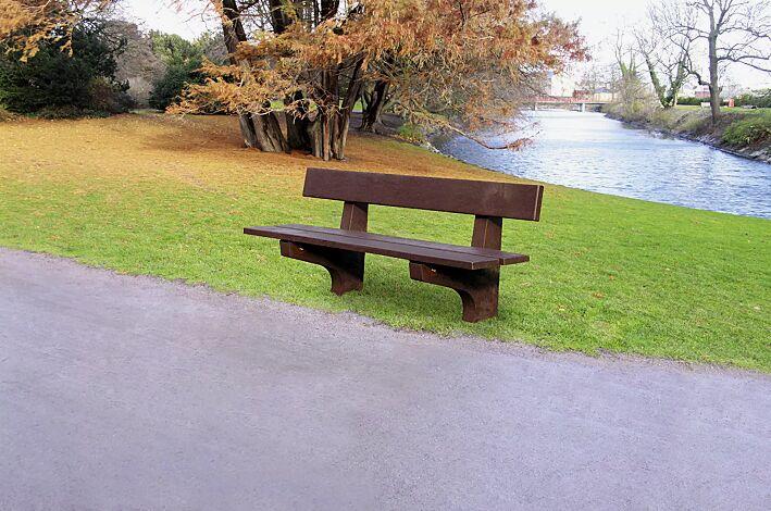 Sitzbank ROSSANO aus Kunststoff