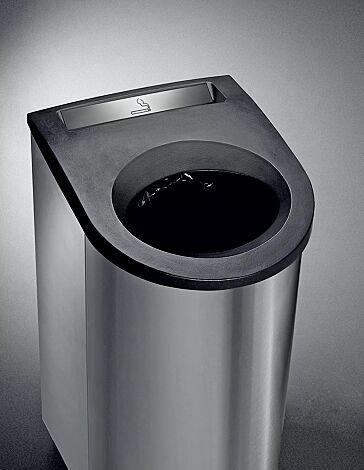 Abfallbehälter GIYANI mit Ascher