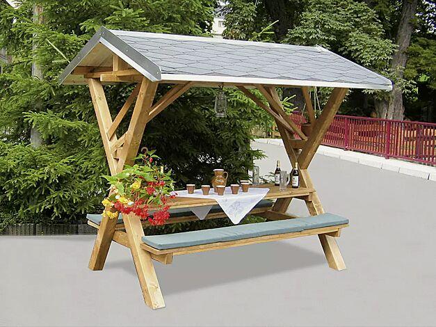 Partyhütte KABANO (Lieferung ohne Auflagen)