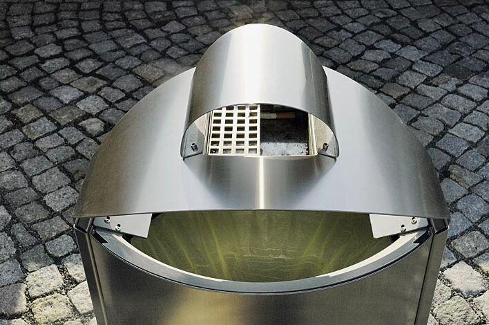 Ascher beim 50- bzw. 60-Liter-Standbehälter
