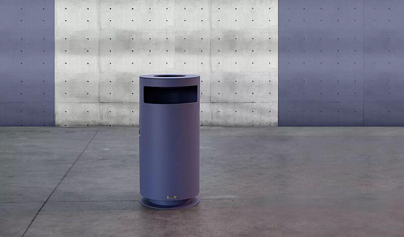 "<div id=""container"" class=""container""><div id=""container"" class=""container"">Abfallbehälter CIMA mit Ascher, RAL 4005 blaulila</div></div>"