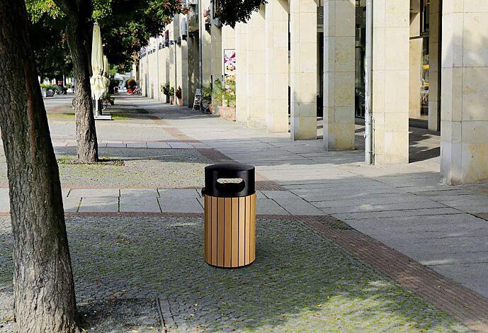 Abfallbehälter CORBY, 40 Liter