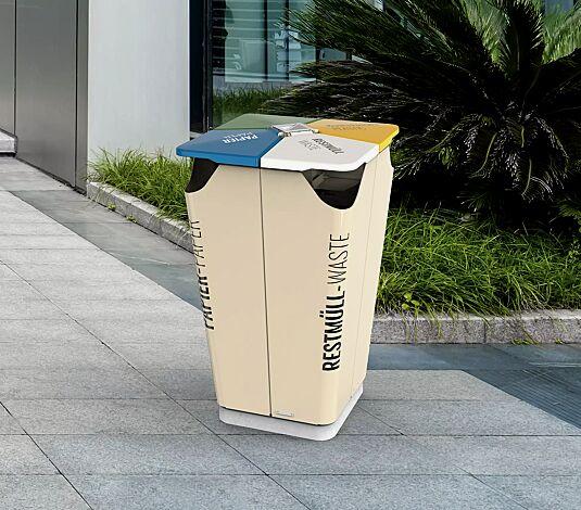 "<div id=""container"" class=""container"">Abfallbehälter GECKO mit Ascher</div>"
