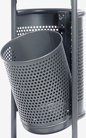 Abfallbehälter kippbar
