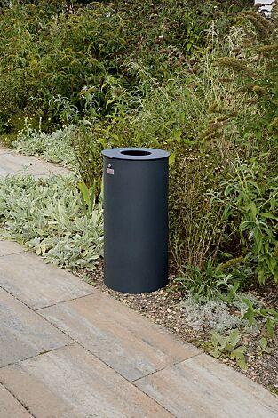 "<div id=""container"" class=""container"">Abfallbehälter NORANDA ohne Ascher, in RAL 7016 anthrazitgrau</div>"