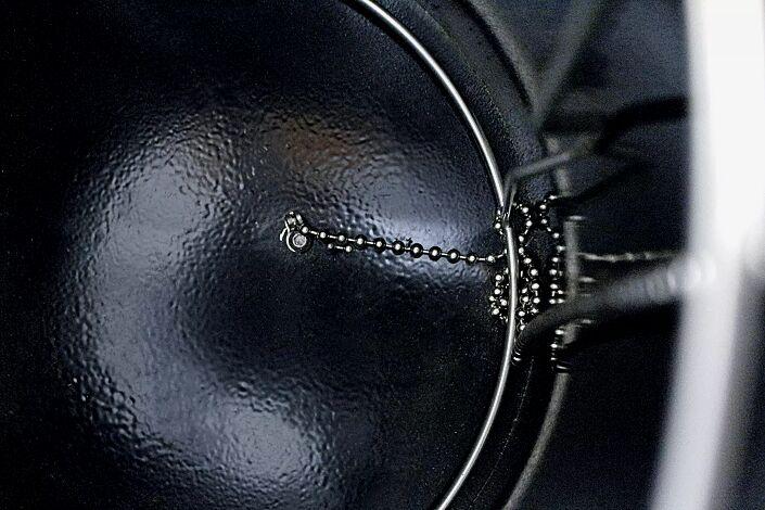 Detail: Kettensicherung