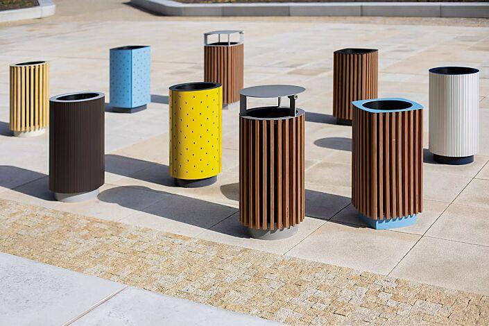 Abfallbehälter QUINBIN in verschiedenen Ausführungen