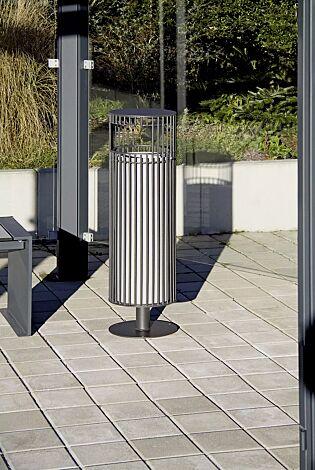 Abfallbehälter SYLVAN, in DB 703 eisenglimmer