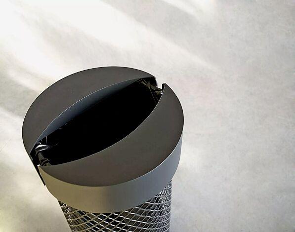 Detail: Aluminiumdeckel