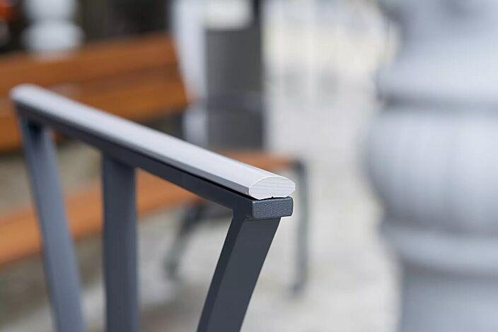 Detail: Aluminiumleiste