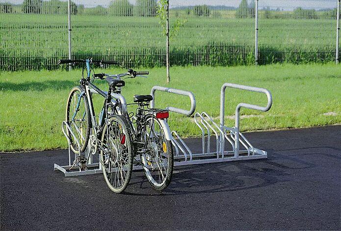 Fahrradständer COLORADO, 90°, verschraubt am Fahrradständer UNIVERSAL