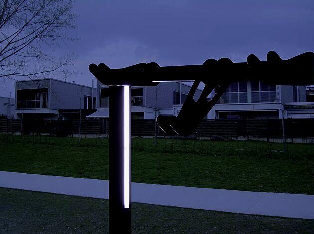 Detail: Stützenbeleuchtung (Zubehör)