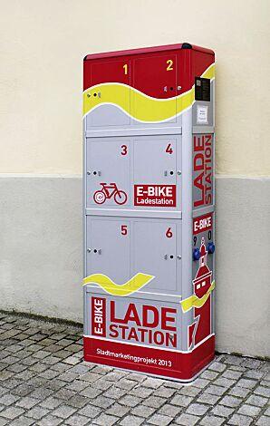 E-Bike-Ladestellenschrank AMARO