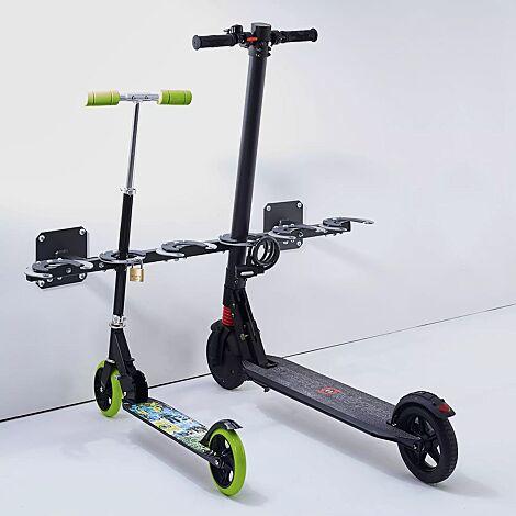 E-Scooter-Parker SPACE zur Wandbefestigung