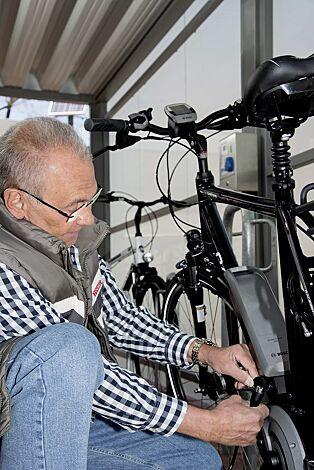 E-Bike-Ladestation MONEDA, Typ ETC 1000 mit LED-Anzeige