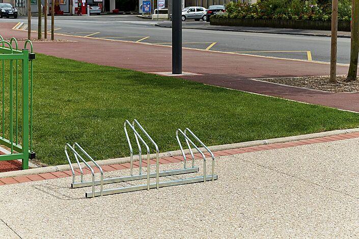 Fahrradständer ARIZONA einseitig, 3 Stellplätze