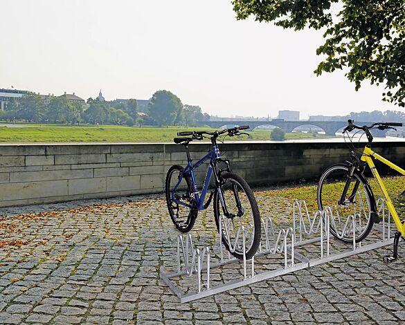 Fahrradständer HOUSTON einseitig, 6 Stellplätze