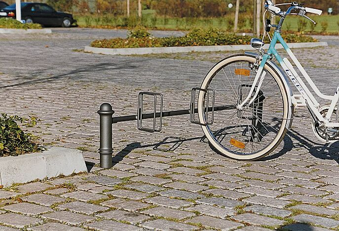 Fahrradständer mit Poller FAVORIT 40
