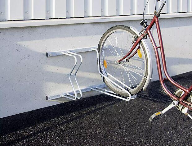 """<div id=""""container"""" class=""""container"""">Fahrradständer SALVADOR zur Wandbefestigung, 2 Stellplätze</div>"""